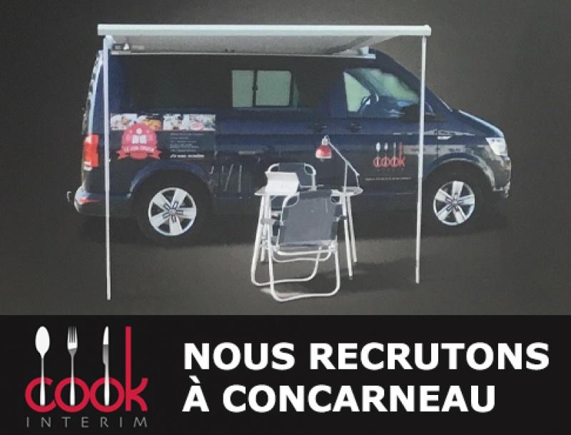 Cook intérim recrute à Concarneau